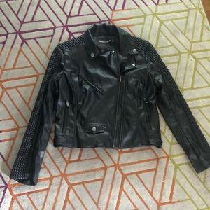 BNWOT Gabrielle Union/NY&Co Faux Leather Jacket
